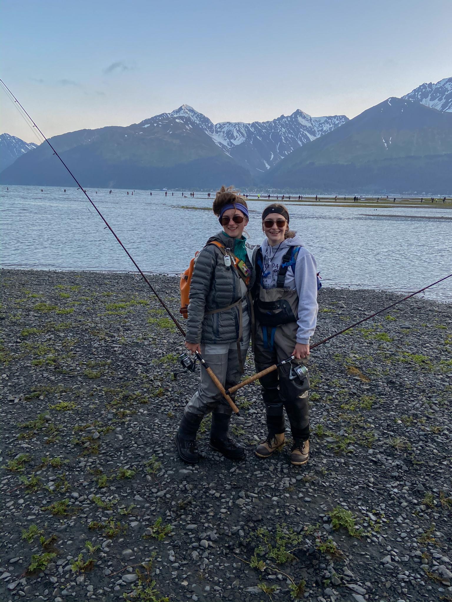 salmon snagging seward